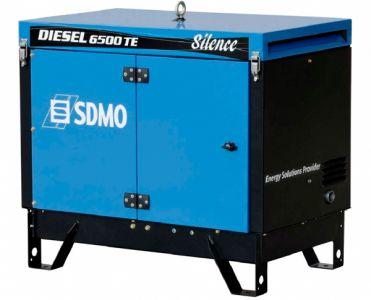 Фото - SDMO Diesel 6500 TE Silence SDMO купить в Киеве и Украине
