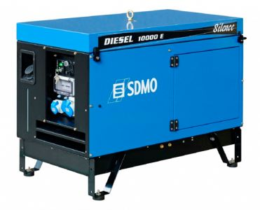 Фото - SDMO Diesel 10000 E Silence SDMO купить в Киеве и Украине