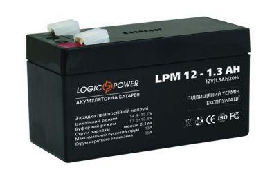 Фото - LogicPower LPM12-1.3AH LogicPower купить в Киеве и Украине
