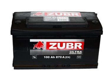 Фото - ZUBR 6СТ-100 820А ULTRA R+ ZUBR купить в Киеве и Украине