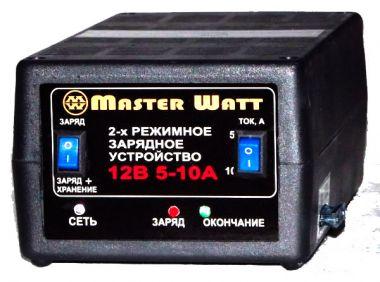 Фото - Master Watt АЗУ 5-10А 12В Master Watt купить в Киеве и Украине