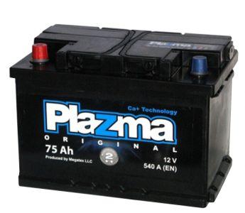 Фото - PLAZMA Original 6СТ-75 575 62 02 L+ PLAZMA купить в Киеве и Украине