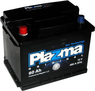 Фото - PLAZMA Original 6СТ-60 560 62 02 L+ PLAZMA купить в Киеве и Украине