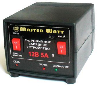 Фото - Master Watt АЗУ 0.8-5А 12В Master Watt купить в Киеве и Украине