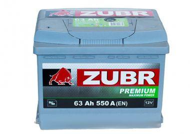 Фото - ZUBR 6СТ-63 550А PREMIUM L+ ZUBR купить в Киеве и Украине