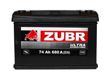 Фото - ZUBR 6СТ-74 680А ULTRA L+ ZUBR купить в Киеве и Украине