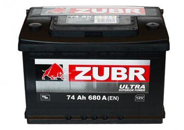 Фото - ZUBR 6СТ-74 680А ULTRA R+ ZUBR купить в Киеве и Украине