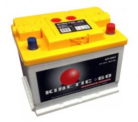 Фото - Kinetic 6СТ-60 480А M2 R+ Kinetic купить в Киеве и Украине
