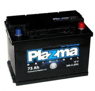Фото - PLAZMA Original 6СТ-75 575 62 04 R+ PLAZMA купить в Киеве и Украине
