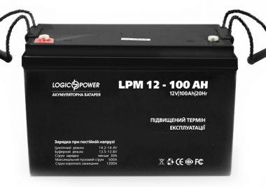 Фото - LogicPower LPM12-100AH LogicPower купить в Киеве и Украине