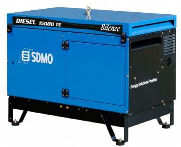 Фото - SDMO Diesel 15000 TE Silence SDMO купить в Киеве и Украине