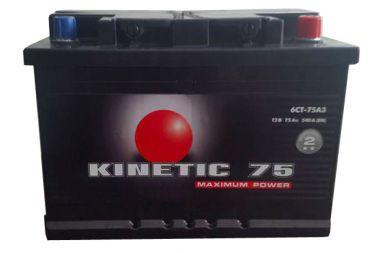 Фото - Kinetic 6СТ-75 540А M2 R+ Kinetic купить в Киеве и Украине