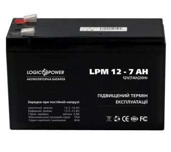 Фото - LogicPower LPM12-7.0AH LogicPower купить в Киеве и Украине