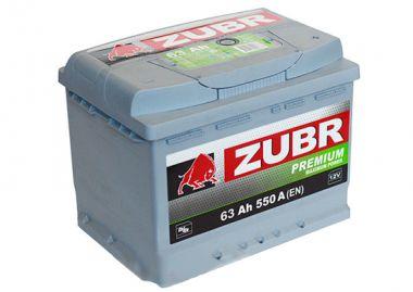 Фото - ZUBR 6СТ-63 550А PREMIUM R+ ZUBR купить в Киеве и Украине