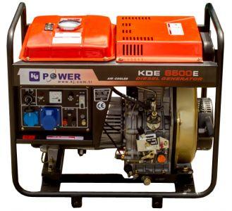 Фото - KJ Power KDE-6500E1 KJ Power купить в Киеве и Украине
