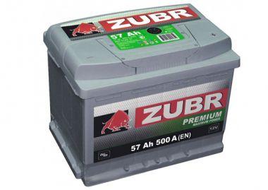 Фото - ZUBR 6СТ-57 500А PREMIUM R+ ZUBR купить в Киеве и Украине