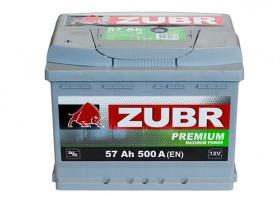 Фото - ZUBR 6СТ-57 500А PREMIUM L+ ZUBR купить в Киеве и Украине