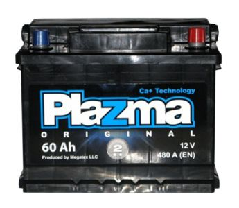 Фото - PLAZMA Original 6СТ-60 560 62 04 R+ PLAZMA купить в Киеве и Украине