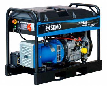 Фото - SDMO Diesel 20000 TE XL AVR C SDMO купить в Киеве и Украине