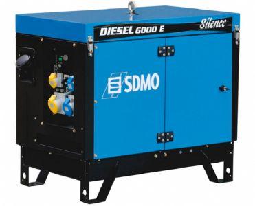 Фото - SDMO Diesel 6000 E AVR Silence SDMO купить в Киеве и Украине