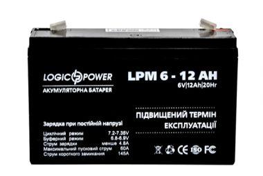 Фото - LogicPower LPM6-12AH LogicPower купить в Киеве и Украине
