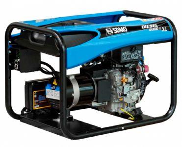 Фото - SDMO Diesel 6000 E XL C SDMO купить в Киеве и Украине