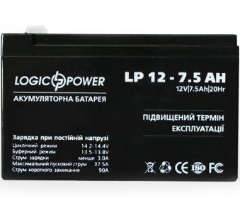 Фото - LogicPower LP12-7.5AH LogicPower купить в Киеве и Украине