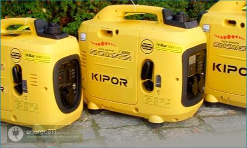 Бензиновая электростанция kipor ig2600