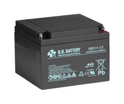 B.B. Battery HR33-12/B1