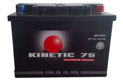 Kinetic 6СТ-75 540А M2 R+
