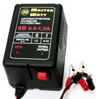 Master Watt АЗУ 0.3-1.2А 6В мото Master Watt